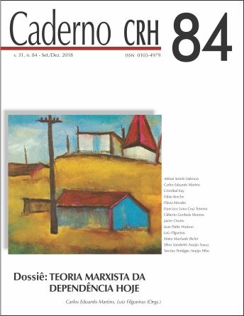 Visualizar v. 31 n. 84 (2018): DOSSIÊ: TEORIA MARXISTA DA DEPENDÊNCIA HOJE. COORD. CARLOS EDUARDO MARTINS; LUIZ FILGUEIRAS