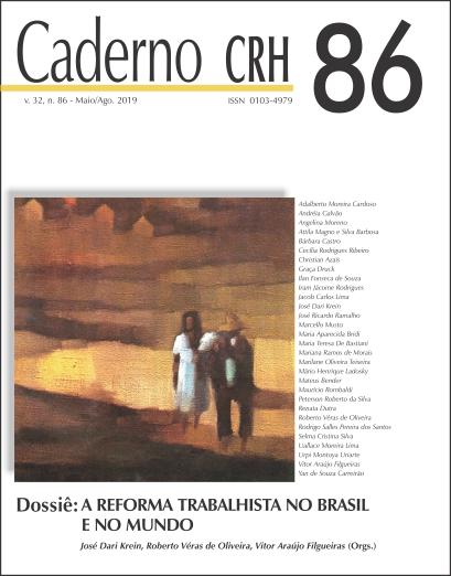 Visualizar v. 32 n. 86 (2019): DOSSIÊ: A Reforma Trabalhista no Brasil e no Mundo. Coord. José D. Krein, Roberto V. de Oliveira, Vitor Filgueiras